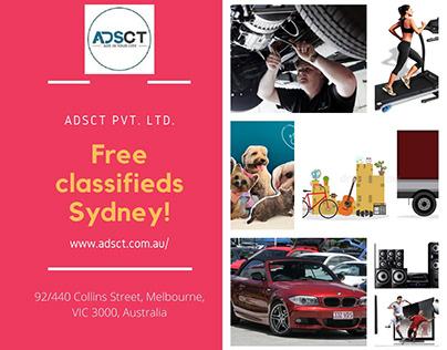 Free classifieds Sydney