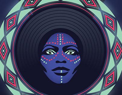 Noites Makossa — cartazes