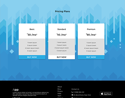 Pricing Plan UI