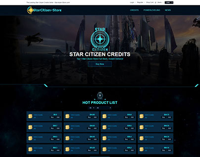 The Leading Star Citizen Credits Seller