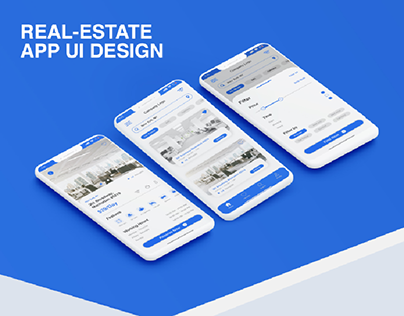 REAL-ESTATE APP UI DESIGN