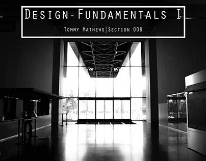 Design Fundamentals I