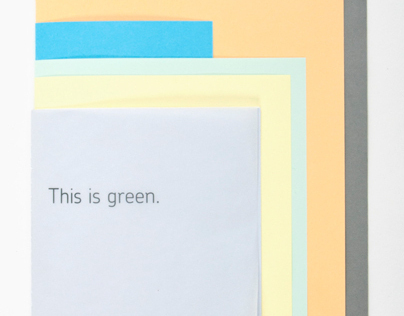 This is green.