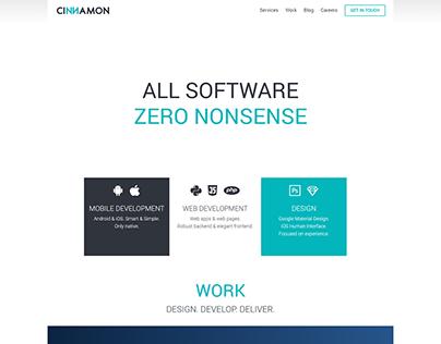 Cinnamon Agency website