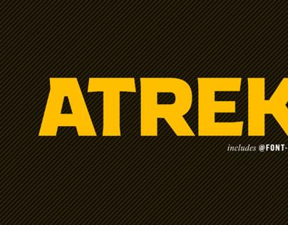 Atrek Heavy Font
