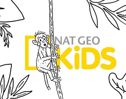 "Natgeo Kids ' Adventure"" Animation"