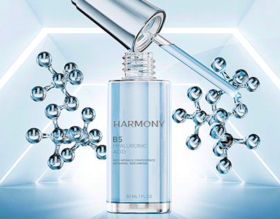 Hyaluronic Acid 3D Packshot