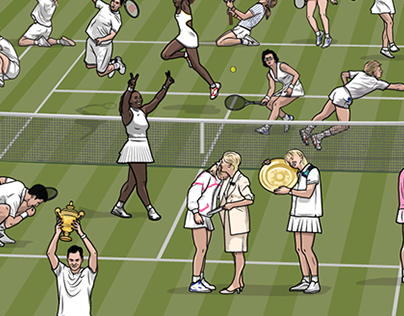 50 Years of Wimbledon for LiveWire Sport