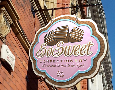 So Sweet Confectionery  |  Logo Design