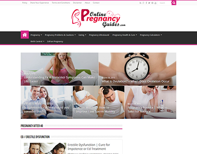 ONLINE PREGNANCY GUIDES