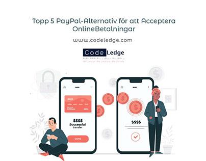 Topp 5 PayPal Alternativ för Att Acceptera Online
