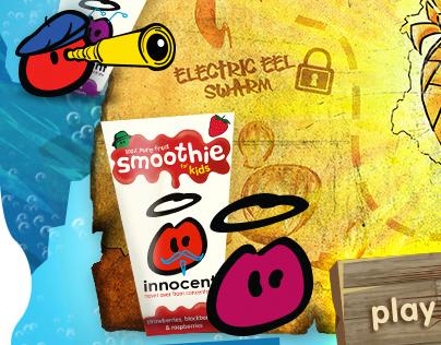 Tilt / Nickelodeon / Innocent Smoothies