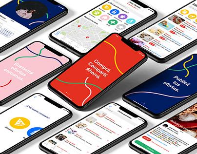 Compra Compartida / Diseño de interfaz para aplicación