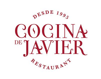Logotipo e identidad Visual/ Cocina de Javier