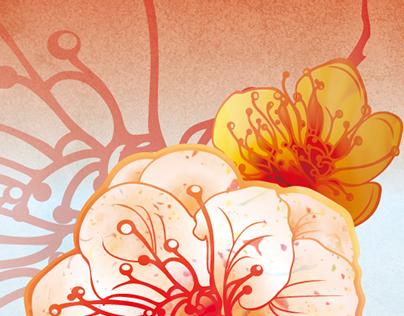 iphone4Case : Flower Series