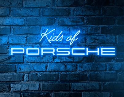 Kids of Porsche - photographic project