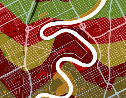 Winnipeg Isochrone Map