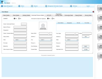 desktop UI Design