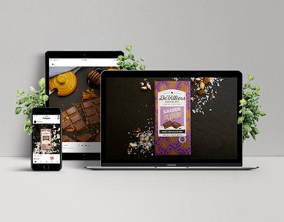 De Villiers Chocolate - Product photography