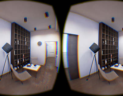 VR experience for interior design