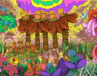 My fantasy garden