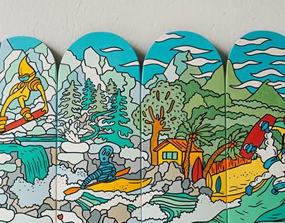 georush custom boards