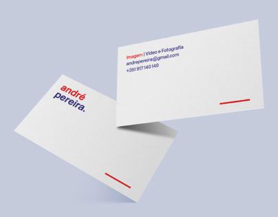 Cartão de Visita | André Pereira