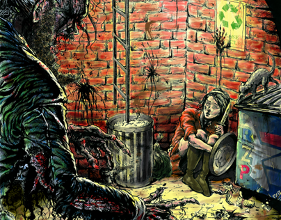 Ermengarde, (Cowardly) Zombie Slayer