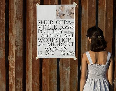 SHUR - Ceramique Studio 2020 Rebranding