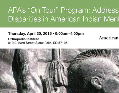 APA On Tour Program Flyer