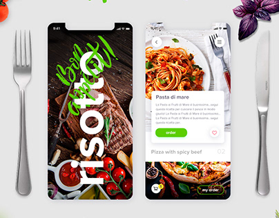 Design Concepts of Mobile UI/UX (Risotto)