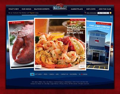 Red Lobster Website