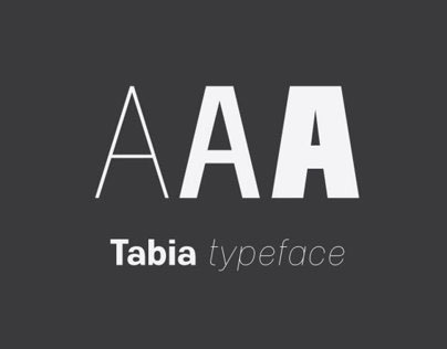 Tabia Typeface
