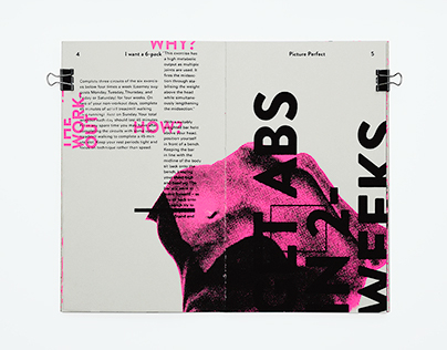 Pixel Perfect: a screen printed zine