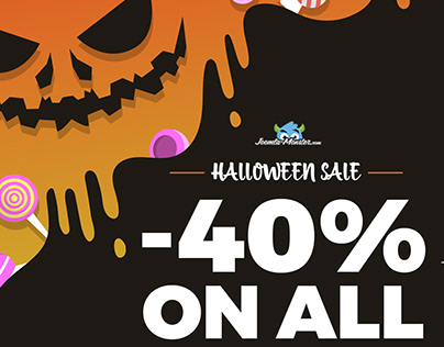 Halloween sale! All Joomla templates 40% OFF