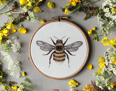 Wildlife Embroidery