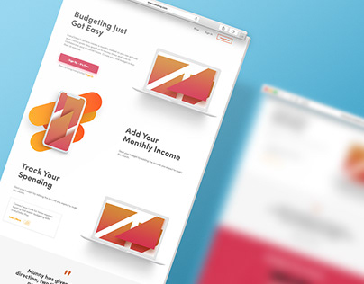 Munny - Web Design Concept