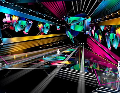 Stage Design for xiaohongshu gala - 2021
