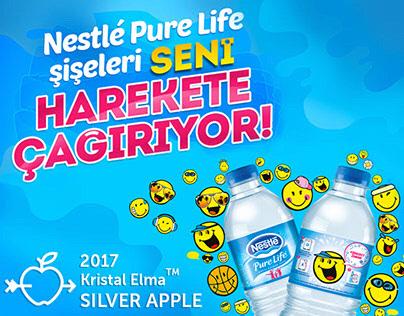Nestlé Pure Life   Eğlenceli Yüzlerle Hareket Zamanı