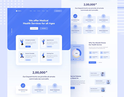 Medical & Healthcare Landing Page
