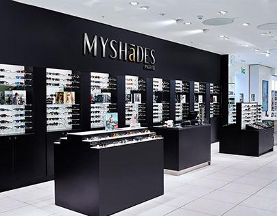 Myshades branding