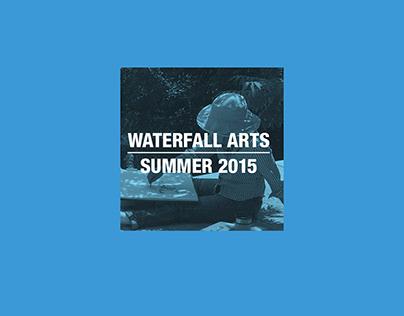 Waterfall Arts | Poster Design