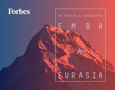 Промо сайт для Forbes и Skolkovo