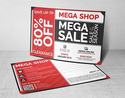 Business Sale Postcard Template & Mailer EDDM