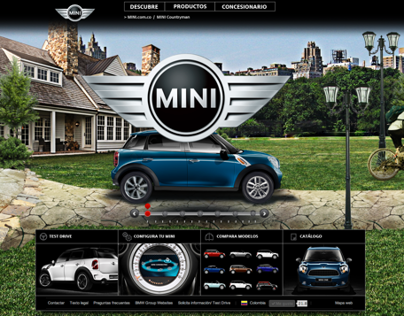 MINI Countryman COL official Website by MASS