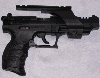 Walther P22 Steel Target