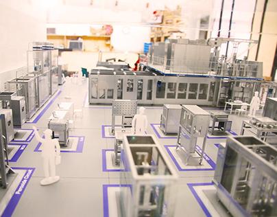Scale Model Ecor Research Plant