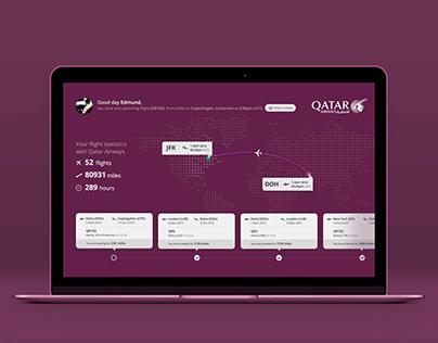 Qatar Airways Flight Diary