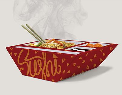 Embalagem para Sushi Delivery