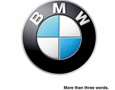BMW /more than three words.